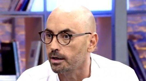 Diego Arrabal presenta su dimisión en 'Sálvame' tras la polémica por su presunto affaire con Gema López