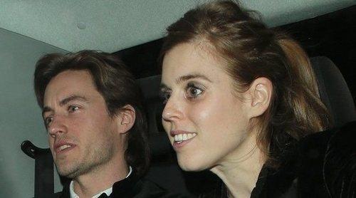 La noche de fiesta de Beatriz de York y su novio Edoardo Mapelli Mozzi en Londres