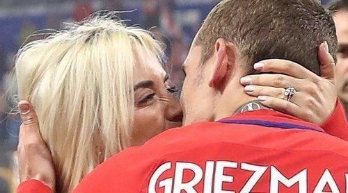 Antoine Griezmann y Erika Choperena han sido padres por segunda vez