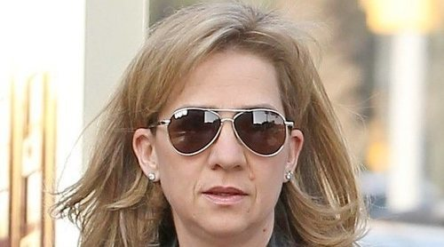 La Infanta Cristina, en el punto de mira por el ERE de CaixaBank