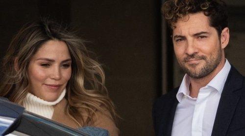 Rosanna Zanetti y David Bisbal ya están en casa con su hijo Matteo