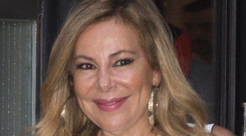 Ana Obregón recuerda uno de los peores momentos de su vida: