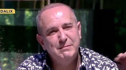 Víctor Sandoval se derrumba en 'Sálvame Okupa' hablando de sus problemas económicos
