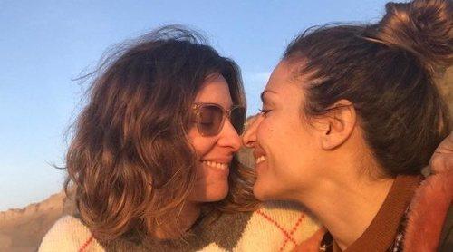 Sandra Barneda y Nagore Robles comparten su primer beso en las redes sociales