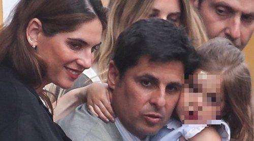 Fran Rivera y Lourdes Montes no se pierden el inicio de la Semana Santa 2019