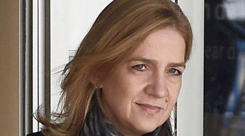 La Infanta Cristina vuelve a España con sus hijos Juan e Irene Urdangarin para pasar la Semana Santa