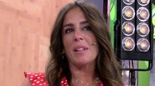 Anabel Pantoja se emociona en 'Sálvame' tras escuchar la llamada de su madre: ''No he hecho un papel'