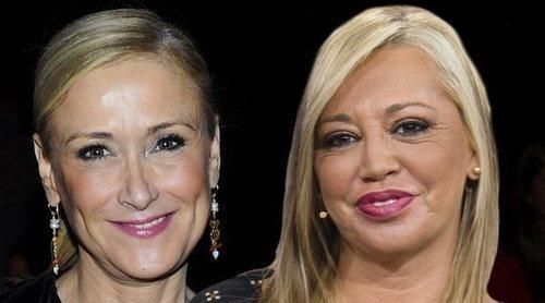 El mensaje de Cristina Cifuentes a Belén Esteban: 'Merece ser muy feliz'