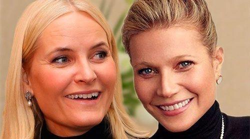 Mette-Marit de Noruega y Gwyneth Paltrow: así es la amistad entre la princesa y la actriz