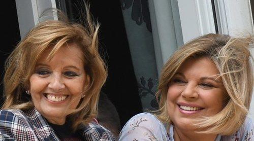 María Teresa Campos y Terelu Campos celebran la Semana Santa en Málaga sin Carmen Borrego