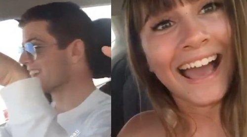 Aitana Ocaña y Miguel Bernardeau comparten su primer vídeo juntos durante sus vacaciones