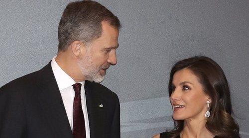 Los Reyes Felipe y Letizia ofrecen un almuerzo en honor a Ilda Vitale con un guiño al Príncipe Carlos