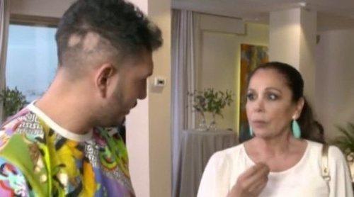 Así ha sido el reencuentro de Omar Montes con Isabel Pantoja antes de 'Supervivientes 2019'