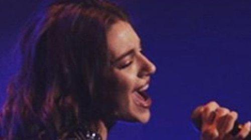 El batacazo de Ana Guerra en el primer concierto de su gira 'Reflexión'