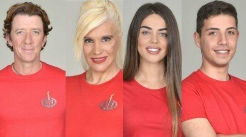 Colate, Loli Álvarez, Violeta y Jonathan Piqueras son los primeros nominados de 'Supervivientes 2019'