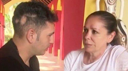 El rapapolvo de Isabel Pantoja a Omar Montes en 'Supervivientes 2019': 'No le vas a hacer daño a mi hija'