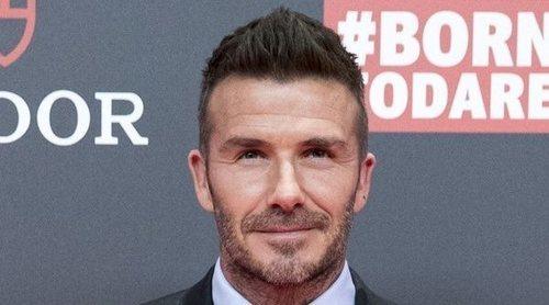 El regreso de David Beckham a Madrid como embajador de una firma de relojes