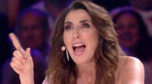 Paz Padilla le da un corte a Santi Millán en 'Got Talent' tras una broma que no sentó bien a la presentadora