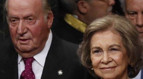 El reencuentro de los Reyes Juan Carlos y Sofía por un triste motivo