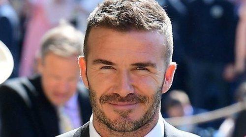El cumpleaños más íntimo de David Beckham