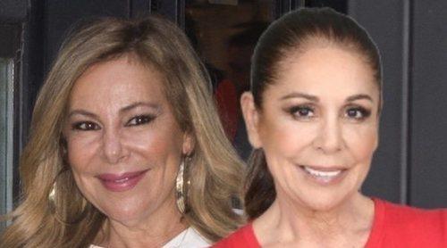 Ana Obregón recuerda que se casó con Isabel Pantoja por error en la boda de Luis Rollán
