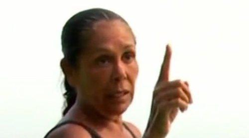 Isabel Pantoja canta 'las cuarenta' a Omar Montes en 'Supervivientes 2019': 'Nadie te conocía'