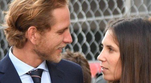 La complicidad de Andrea Casiraghi y Tatiana Santo Domingo en Gran Premio de Fórmula E de Mónaco
