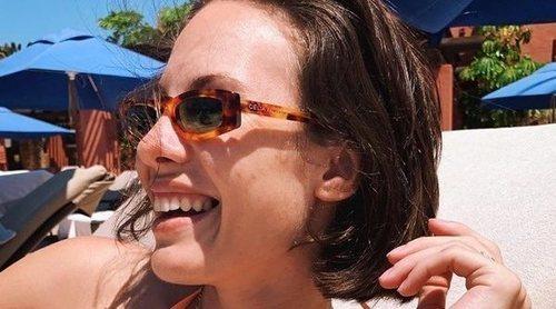 Jessica Bueno presume en bikini de sus vacaciones en familia lejos de Reino Unido