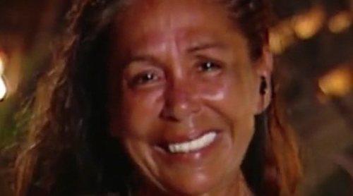 La triste noche de Isabel Pantoja en 'Supervivientes 2019': nominación, zasca de Omar y adiós a su amiga Aneth