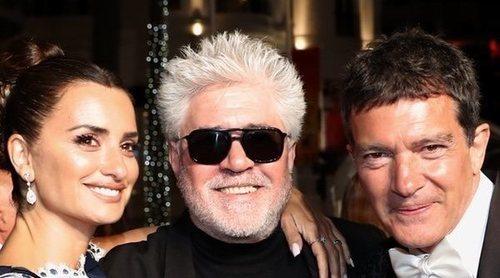 Almodóvar, Banderas y Penélope Cruz comparten protagonismo en Cannes con Bella Hadid y Amber Heard