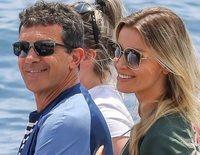 Antonio Banderas y Nicole Kimpel pasean su amor por Cannes