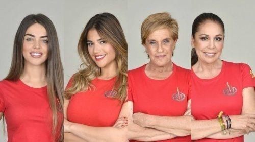 Violeta Mangriñán, Lidia Santos, Chelo García Cortés e Isabel Pantoja son las nuevas nominadas de 'SV 2019'