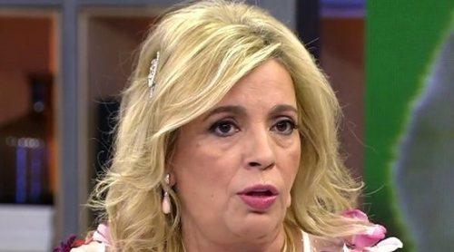 Carmen Borrego confiesa en 'Viva la vida' que dejó 'Sálvame' por las críticas de sus compañeros