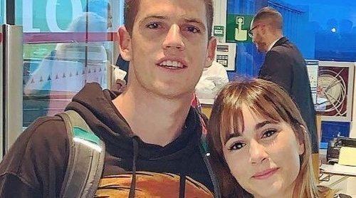 Aitana Ocaña y Miguel Bernardeau: nuevo viaje juntos a Los Ángeles