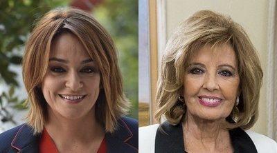 El cara a cara entre Toñi Moreno y María Teresa Campos en televisión