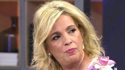 Carmen Borrego, rota al ver la salida de Terelu Campos de 'Sálvame': 'Me destroza el alma'