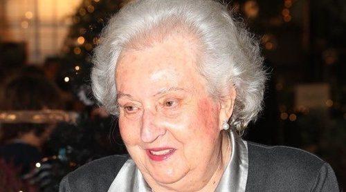 La Infanta Pilar de Borbón tiene cáncer