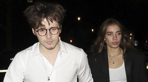 Brooklyn Beckham y su novia Hana Cross protagonizan una acalorada pelea en el Festival de Cannes