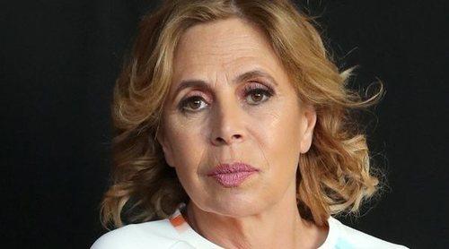 Ágatha Ruiz de la Prada reaparece en silla de ruedas cinco días después de sufrir un accidente de moto