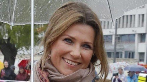 Marta Luisa de Noruega retoma su agenda oficial tras los rumores de pérdida de su título