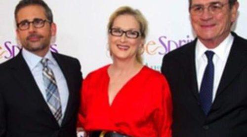 Meryl Streep, Steve Carell y Tommy Lee Jones acuden a la premiere de 'Hope Springs' en Nueva York