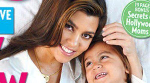 Kourtney Kardashian presenta en sociedad a Penelope Scotland Disick junto a su hijo Mason