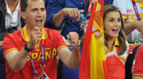 La Reina Sofía y los Príncipes Felipe y Letizia, el mejor apoyo del deporte español en Londres 2012