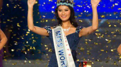La china Wen Xiaoyu se proclama Miss Mundo 2012 y sustituye a la venezolana Ivian Sarcos