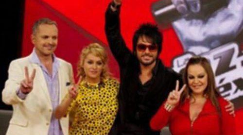 Miguel Bosé, Paulina Rubio, Beto Cuevas y Jenni Rivera presentan el programa 'La Voz' en México