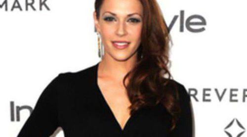 Amanda Righetti, de 'El Mentalista', embarazada de su primer hijo con Jordan Alan