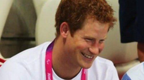 Marta Luisa de Noruega, el Príncipe Harry y Kate Middleton animan a los deportistas paralímpicos en Londres 2012