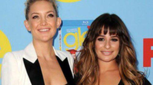 Lea Michele, Chris Colfer, Chord Overstreet y Kate Hudson presentan la cuarta temporada de 'Glee'