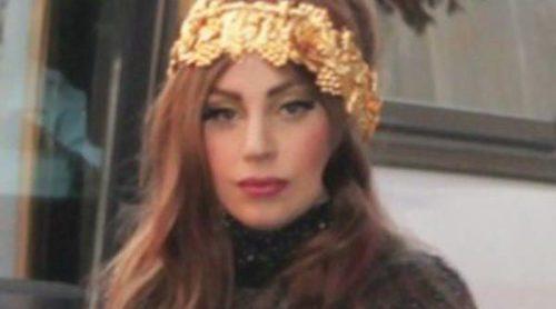 Paris Hilton, Lindsay Lohan y Marc Jacobs apoyaron a Lady Gaga en la presentación de su fragancia 'Fame'