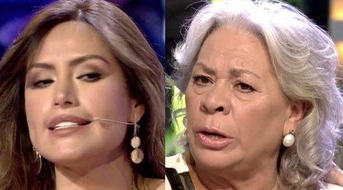 La tensa situación entre Miriam Saavedra y Carmen Gahona en 'Supervivientes 2019': 'Mucho cuidadito conmigo'